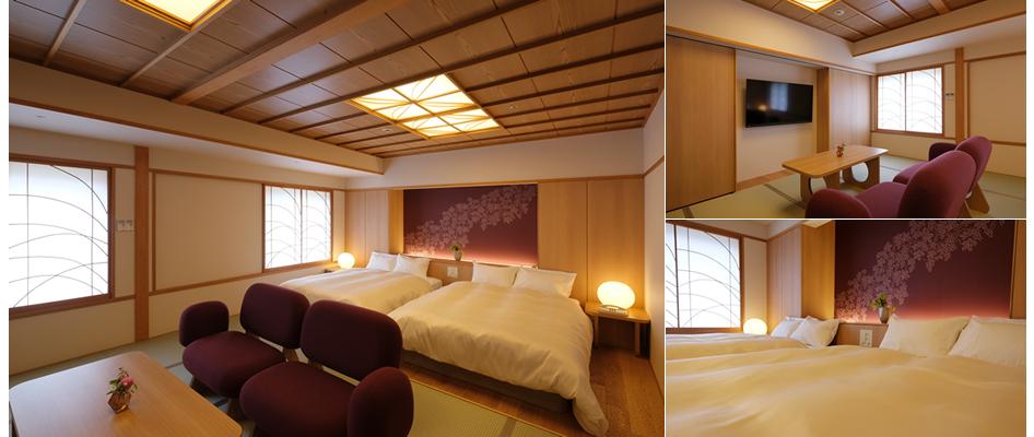 ツインベッド 2人部屋